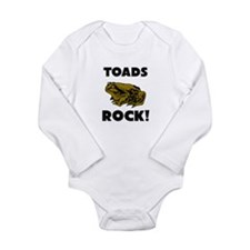 Cute Cane toad Long Sleeve Infant Bodysuit