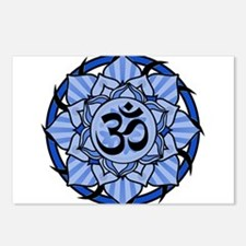 aum-blue.png Postcards (Package of 8)