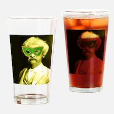 Vintage Masquerade Drinking Glass