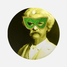 Vintage Masquerade Round Ornament