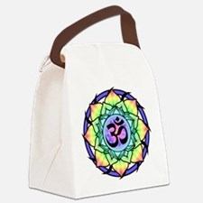 aum-rainbow.png Canvas Lunch Bag