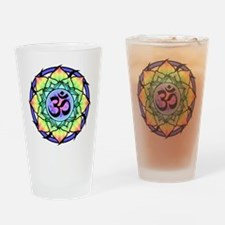aum-rainbow.png Drinking Glass