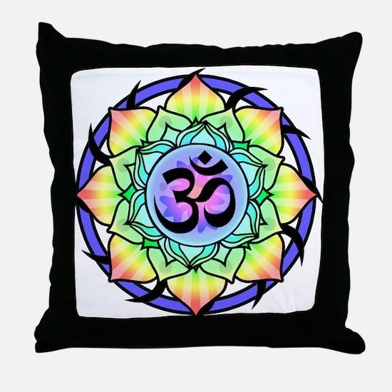 aum-rainbow.png Throw Pillow