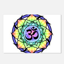 aum-rainbow.png Postcards (Package of 8)