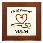 FIELD SPANIEL Framed Tile