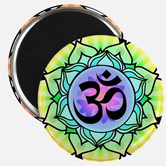 aum-rainbow Magnets