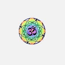 aum-rainbow.png Mini Button