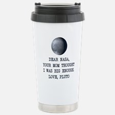Cute Pluto Travel Mug