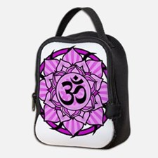 aum-purple.png Neoprene Lunch Bag
