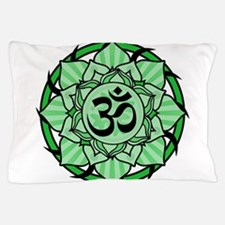 aum-green.png Pillow Case