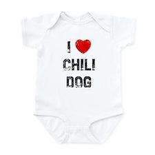 I * Chili Dog Infant Bodysuit