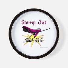 SEPSIS AWARENESS Wall Clock