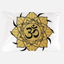 aum-gold.png Pillow Case