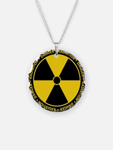 Radiation Warning Necklace