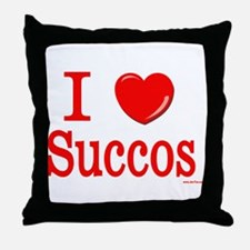 I Lover Succos Throw Pillow
