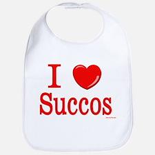I Lover Succos Bib