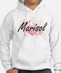 Marisol Artistic Name Design wit Jumper Hoody