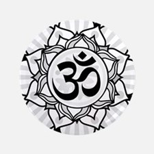 """aum-grey.png 3.5"""" Button (100 pack)"""