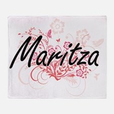Cute Maritza Throw Blanket