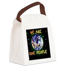 Cute Love war Canvas Lunch Bag