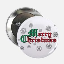 "Merry Christmas 2.25"" Button (10 pack)"