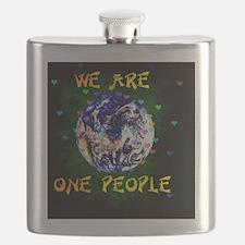 Unique Coexist Flask
