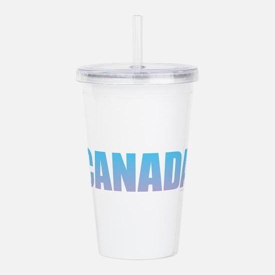 Canada Design Acrylic Double-wall Tumbler