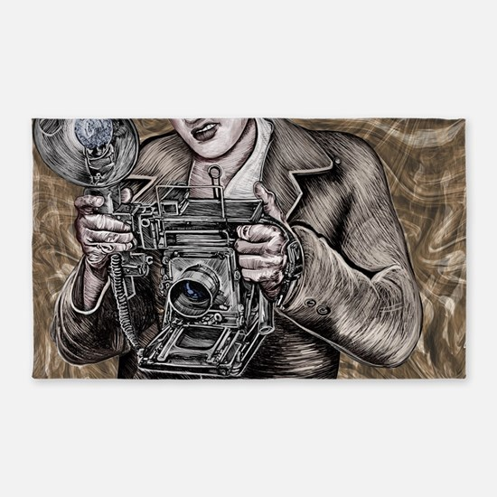 The Camera King Area Rug
