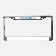 Canada Design License Plate Frame