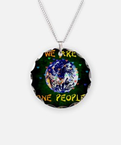 We Are One People Necklace