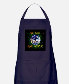 We Are One People Apron (dark)