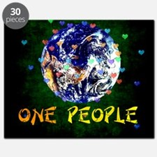 We Are One People Puzzle