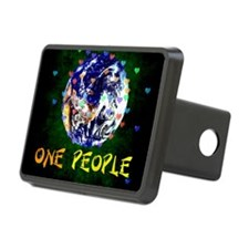 We Are One People Hitch Cover