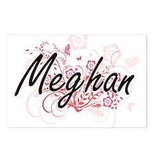 Meghan Artistic Name Desi Postcards (Package of 8)