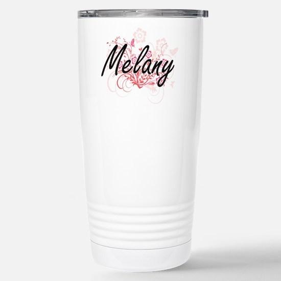 Melany Artistic Name De Stainless Steel Travel Mug