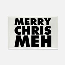 Merry Chris Meh Rectangle Magnet