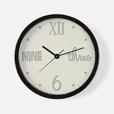 Beige Variations Wall Clock