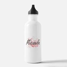 Micaela Artistic Name Water Bottle