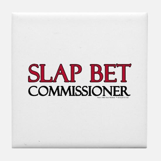 Slap Bet Tile Coaster