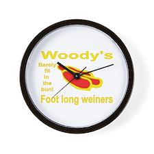 Foot Long Weiner Wall Clock