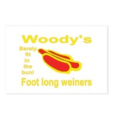 Foot Long Weiner Postcards (Package of 8)