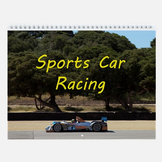 Sports Car Racing - Race Car Wall Calendar