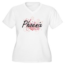 Phoenix Artistic Name Design wit Plus Size T-Shirt