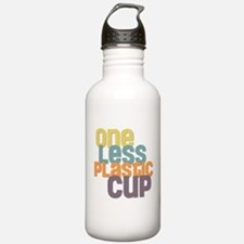 One Less Plastic Cup Water Bottle