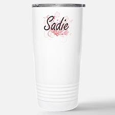 Sadie Artistic Name Des Stainless Steel Travel Mug