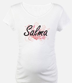 Salma Artistic Name Design with Shirt