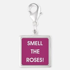 SMELL THE ROSES Charms