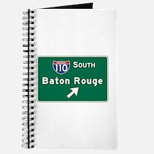 Baton Rouge, LA Road Sign, USA Journal