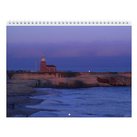 California Beaches Wall Calendar