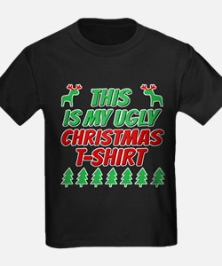 This is my ugly Christmas t-shirt T-Shirt